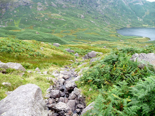 Path back to Easedale Tarn