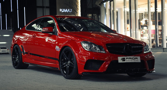 Prior design gives your mercedes benz c class coupe the for Mercedes benz car care kit