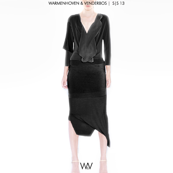 Warmenhoven & Venderbos | Spring |  Summer 2013 ready to wear fashion collection | Voorjaar Zomer 2013  pret-a-porter damesmode |  Conceptual Fashion Designers |  Nederlandse Modeontwerpers