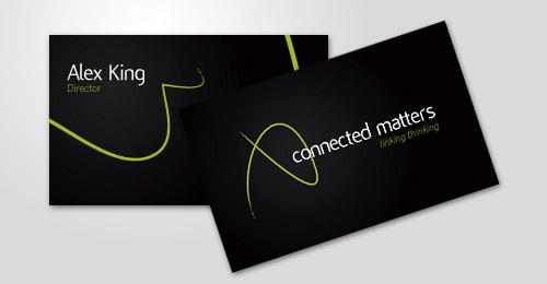 Cartão de visita Connected Matters