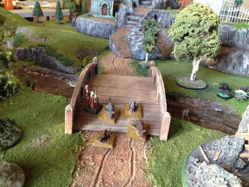 Necromancer and Rats patrol the center bridge