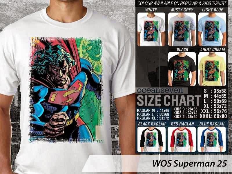 KAOS superman 25 Movie Series distro ocean seven