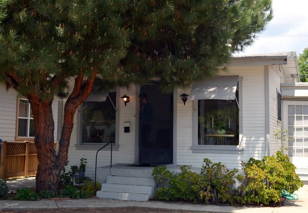 There's a 648-square-foot Atwater Village house under that pine street