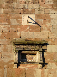 Sun Dial and ?? on Ellastone Church