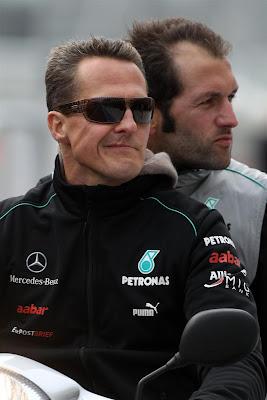 Михаэль Шумахер на Гран-при США 2012