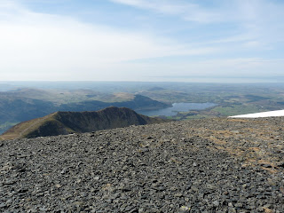 Ullock Pike ridge and Bassenthwaite from Skiddaw