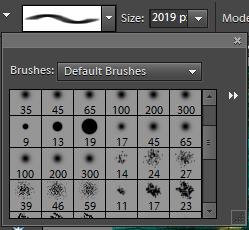 How to use brushes in Adobe Photoshop Elements : Recently one of the blog-viewer checked creative way of Watermarking in Adobe Photoshop Elements. He followed all the steps mentioned at http://photoshopelementsbyadobe.blogspot.com/2010/03/creative-easy-and-fast-process-of.html and able to create watermarking brush. Now he is not able to figure out the way to use this brush and watermark the photographs !! Here i s am going to share the generic process of using brushes/custom-brushes in Adobe Photoshop Elements... Please see mentioned steps to use brushes:1. Launch Adobe Photoshop Elements2. Locate below shown icon on tools palette on left side of Editor3. Icon shown above is brush icon.4. Click on this icon to select Brush Tool5. Now next step would be to locate the type of brush you want to use.6. Locate Brush tool option bar on top of the application. It should look like the one shown  below.7. This option bar shows various options to select the type of brush, it's size, mode of use, Opacity etc.8. Click on first control to select appropriate brush. (If you have recently added a custom brush for watermarking, it would be shown in the end...)9. Click on appropriate brush with the size you want10. Start using it now !!!Leave a comment in case you have some specific queries about it !!!
