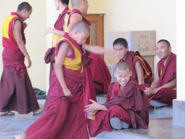 debating monks Dharamsala