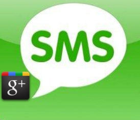 update google plus post via mobile sms