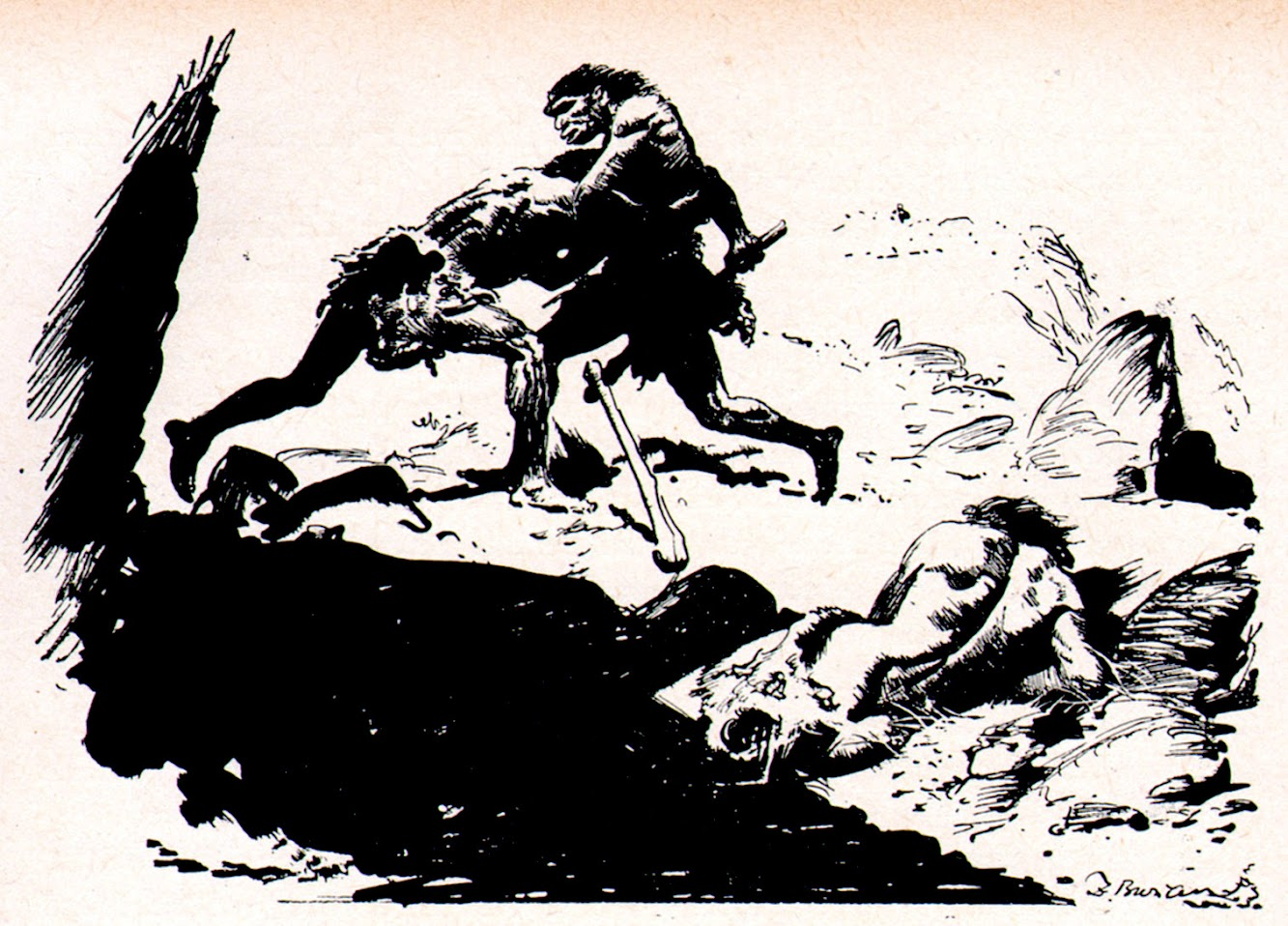 Did Zdenek Burian Influence Frank Frazetta?