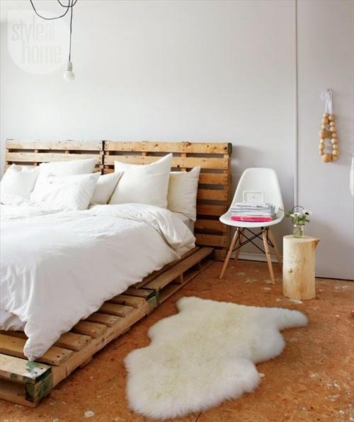 palettenbett bauen matratze