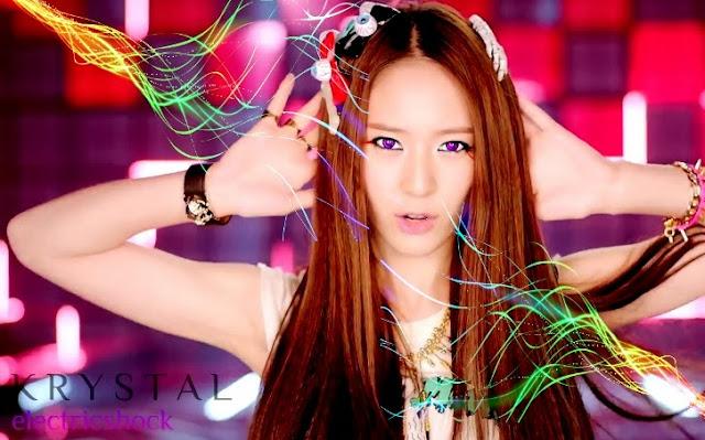 Victoria Amber Luna Sulli Krystal K pop F(x) Electric Shock Nail Art - Born Pretty Store