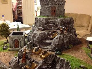 Necromancer and Rats assault cemetery