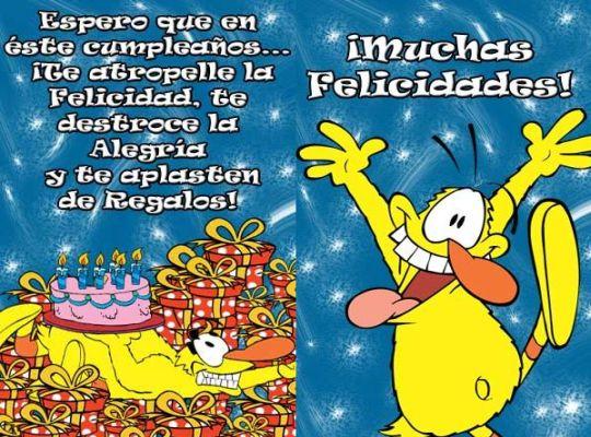 Frases graciosas de cumpleaños ~ Frases de cumpleaños
