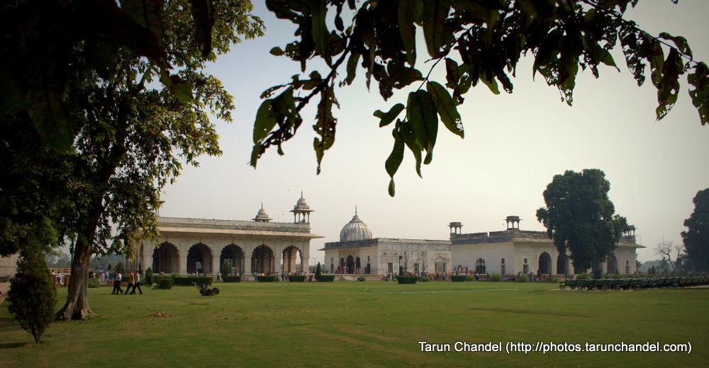 Garden of Red Fort, Tarun Chandel Photoblog