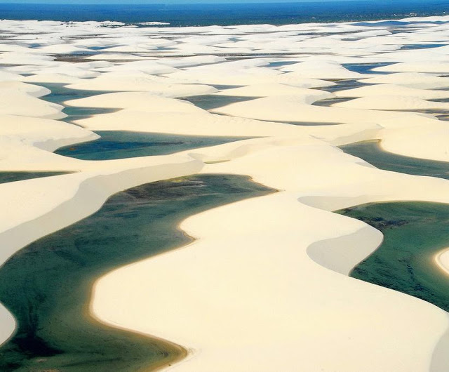 Lencois Maranhenses, Brazil - Beautiful Desert Pictures Seen On www.coolpicturegallery.us