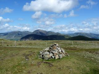 Gavel Fell Summit with Mellbreak and Grasmoor.