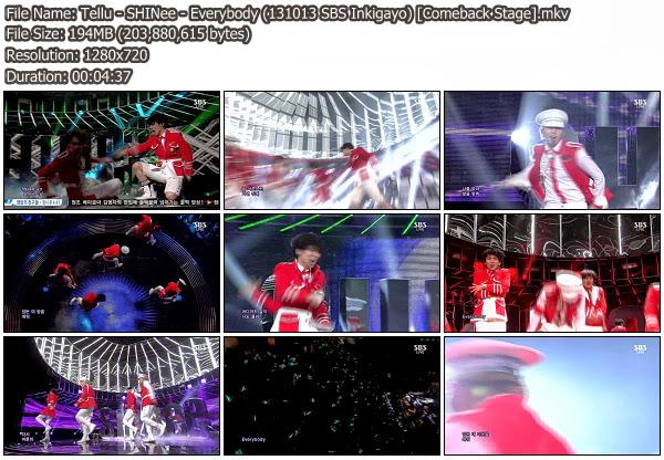 1k shinee taemin gifs:shinee inkigayo symptoms music show everybody comeback gifs:taemin 131013