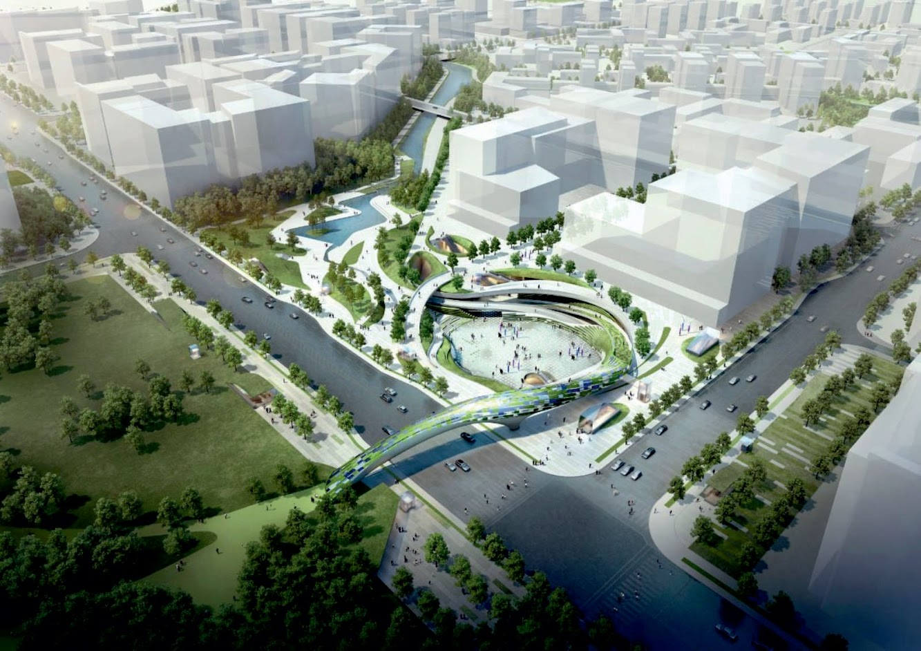 Wooridongin Architects Wins Magok Central Squares Competition