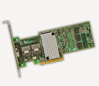 RAID Controller SATA Add-on card dari LSI