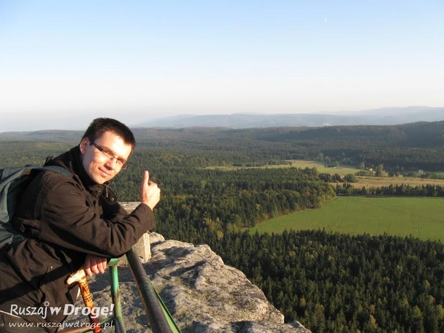 Wspaniała panorama ze szczytu Szczelinca Wielkiego