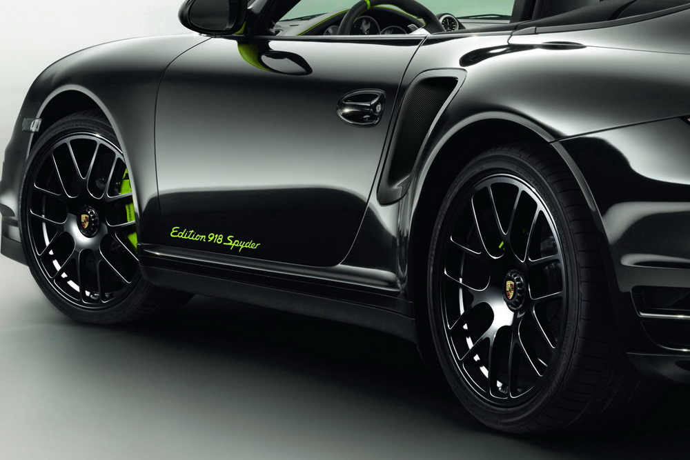 Car news car reviews porsche 911 turbo s 918 spyder limited edition