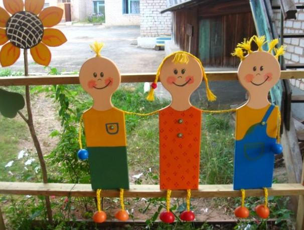 Украшаем детскую площадку своими руками в детском саду