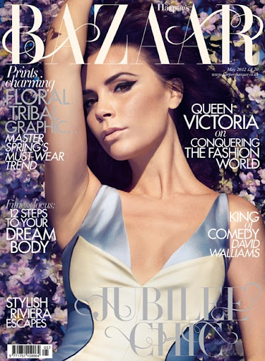Queen Victoria Covers May 2012 Harper's Bazaar Uk