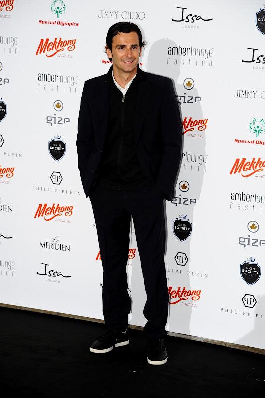 Педро де ла Роса на Amber Fashion Show на Гран-при Монако 2012