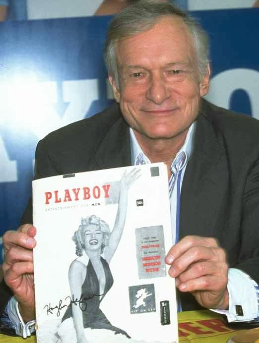 Marilyn Monroe On the First Edition Of Playboy Magazine In December 1953 was the first nude Playboy model