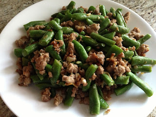 Minced Pork & Green Beans