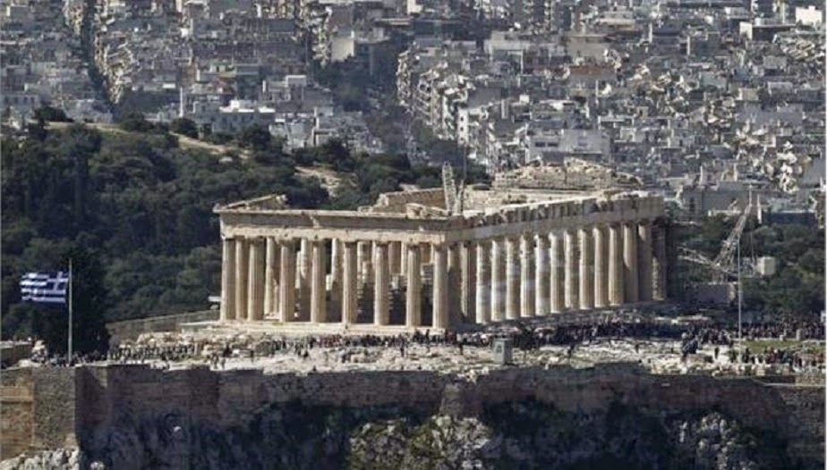 Greece: the Acropolis is not in danger of collapse!