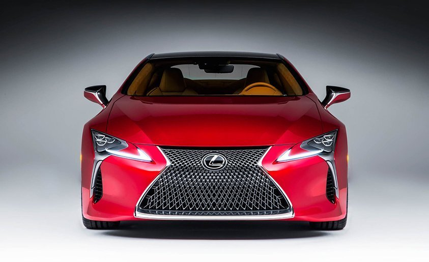 2017 Lexus LC500 Coupe Dissected: Redesign Exterior and Interior Powertrain Car Review Specs