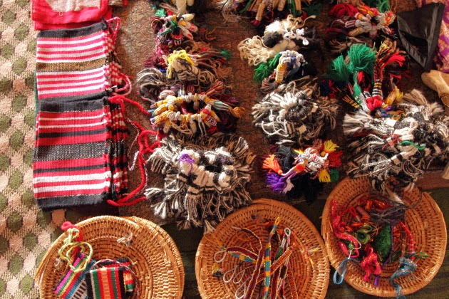 Traditional Souvenirs designed by Bedouin Women of Wahiba Sands, Oman