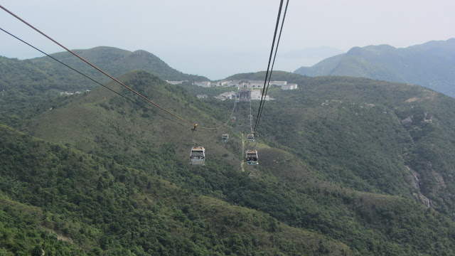 Lantau Island is a nature lover's paradise. There are even waterfalls!