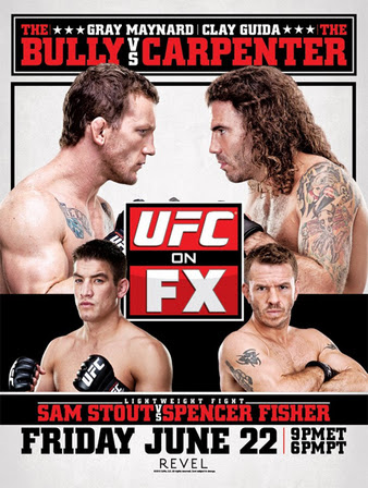 UFC on FX: Maynard vs Guida (22.06.2012) PL.TVRip.XviD /  PL