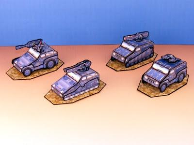 Armor Grid: Motor Pool-Light Vehicles