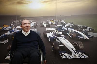 Фрэнк Уильямс отмечает 600-ую гонку Williams на Гран-при Великобритании 2013