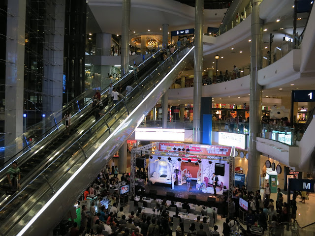 The amazing Terminal 21 shopping mall.