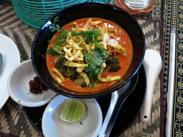 Our take on khao soi.