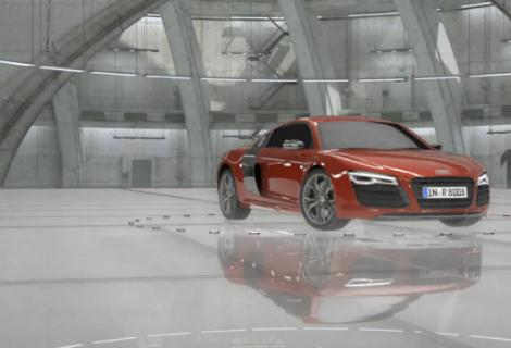 "New Audi R8 TV Commercial ""Colors"""