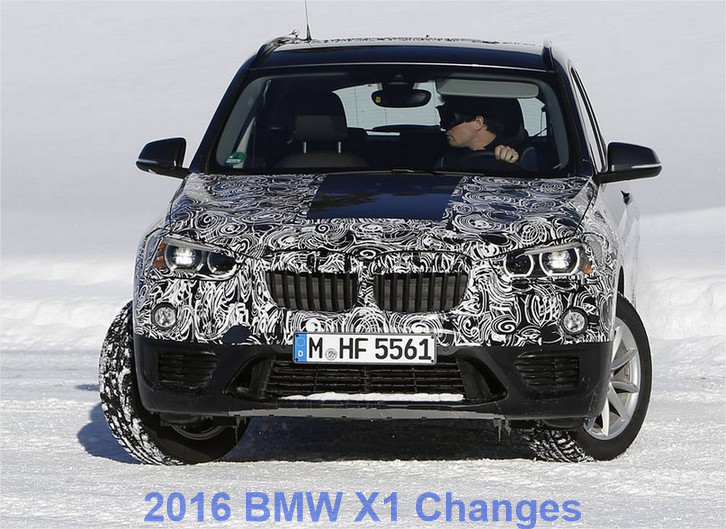 2016 BMW X1 Changes: New Front Wheel Drive