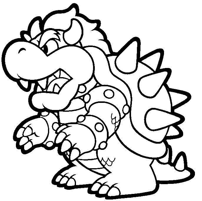 Mario Bros coloring pages printable games