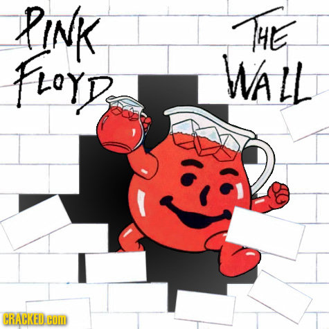 Tales from the Big Onion: Rejected Album Art for Pink Floyd\'s The Wall