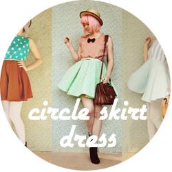 diy circle skirt dress