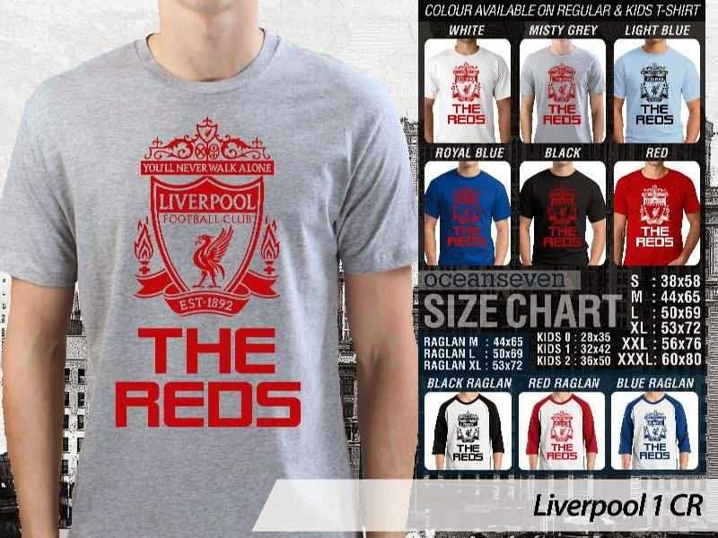 KAOS Liverpool 1 Liga Premier Inggris distro ocean seven