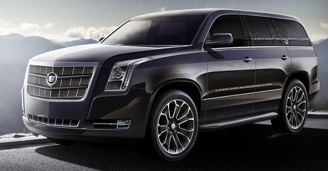 future cars gm 39 s upcoming 2014 cadillac escalade luxury suv. Black Bedroom Furniture Sets. Home Design Ideas