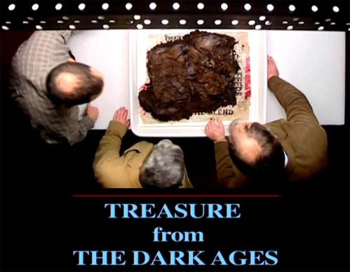Skarby wczesnego ¶redniowiecza / Treasure from the Dark Ages (2011) PL.TVRip.XviD / Lektor PL