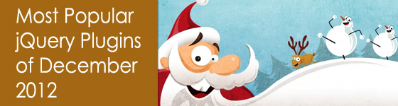 Best jQuery Plugins of Dec 2012