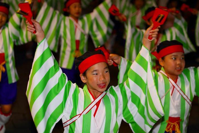 第59回よさこい祭り☆本祭2日目・上町競演場53☆上2目0329